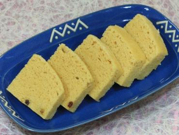 米粉で作ったしょうゆ蒸しパン