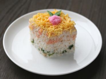 ひし餅風ちらし寿司