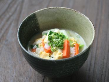 レンジで作る中華粥