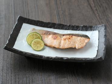 鮭の柚庵焼き風