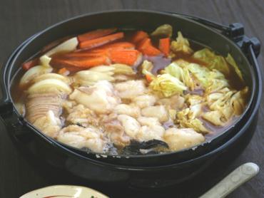 ピリ辛ホルモン鍋