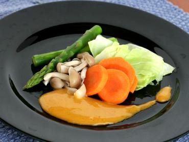 野菜のポンディップソース