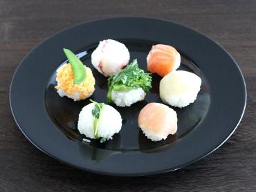 そのまま食べれる味付けてまり寿司