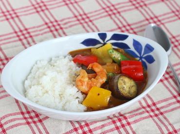 夏野菜のシュリンプカリー