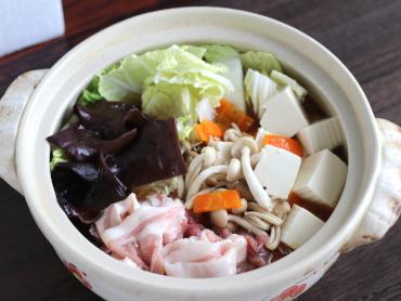 京風だしのとろーり生姜鍋