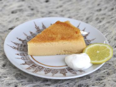 しょうゆチーズケーキ