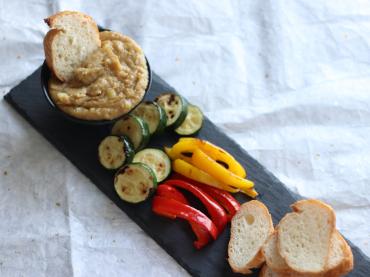 夏野菜と和風アリゴ