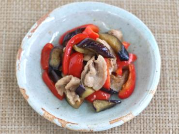 中華風夏野菜炒め
