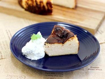 コク深バスク風チーズケーキ
